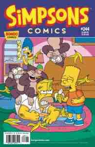 Simpsons Comics #244