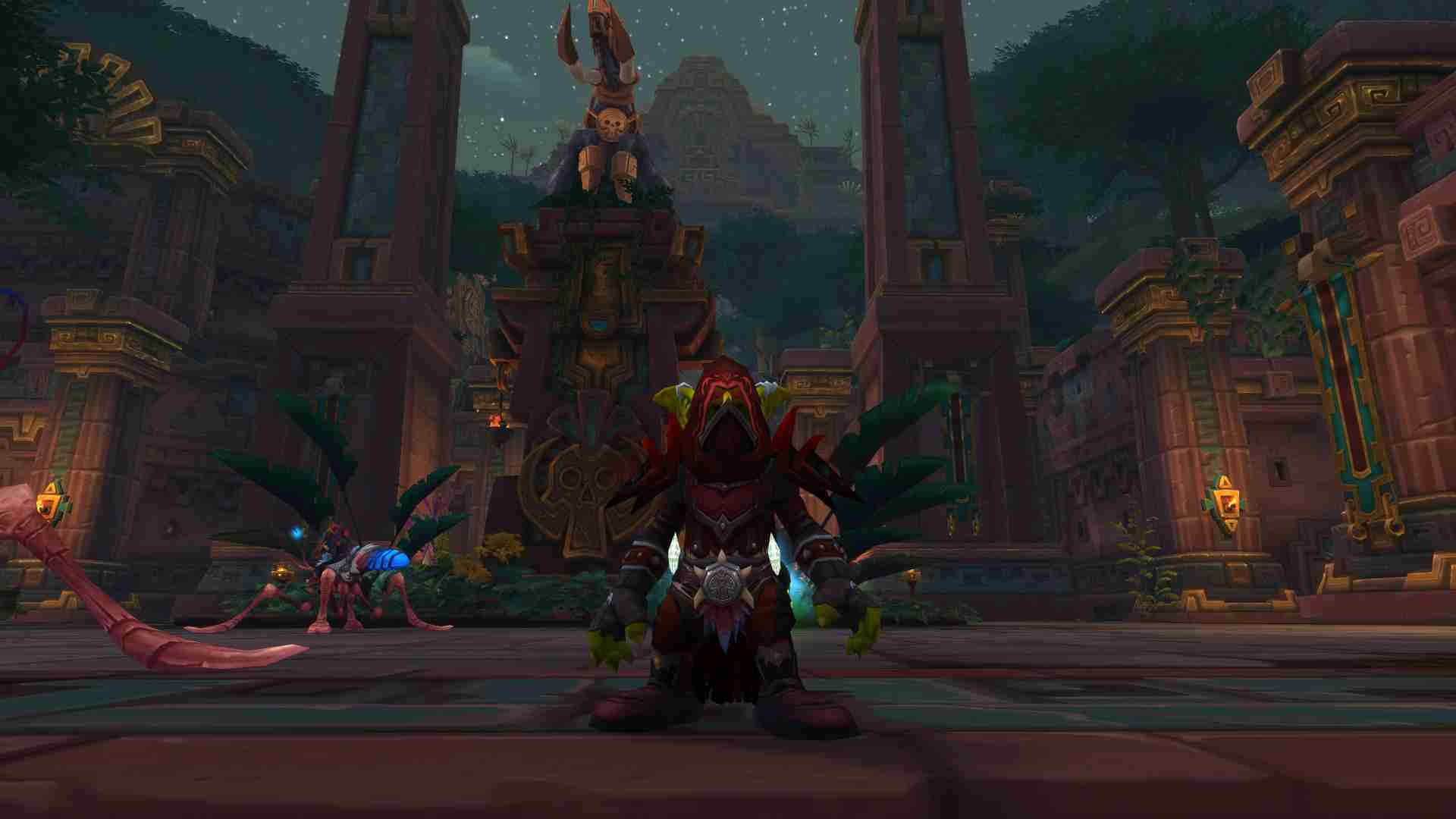 Gifflar, mon rogue goblin anciennement mort-vivant à Burning Crusade.