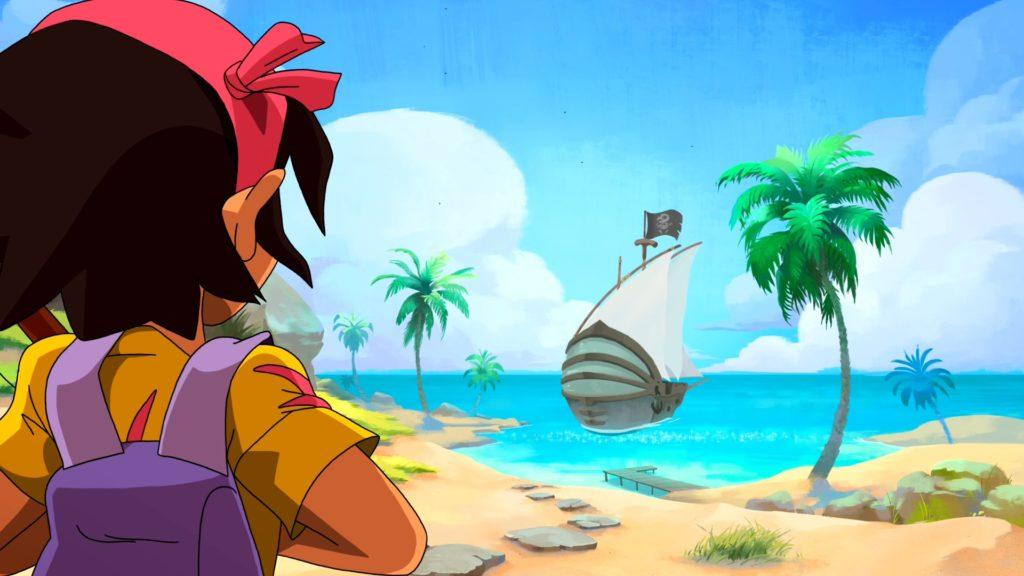 Koa prête pour l'aventure