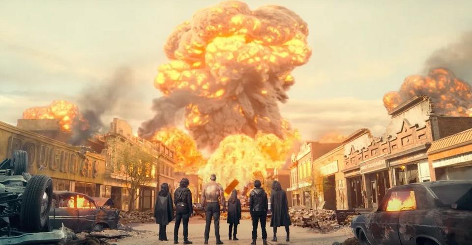 Explosion de bombes atomiques