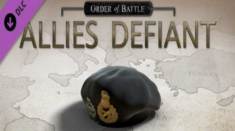 Order of Battle: Allies Defiant