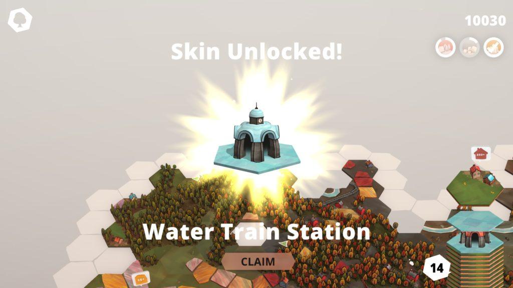 Nouvelle skin débloquée