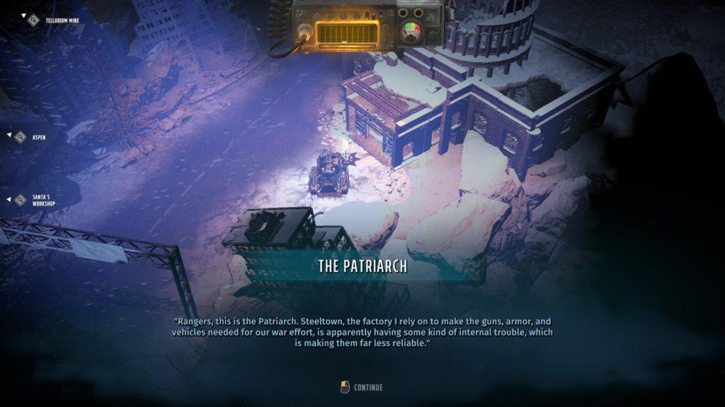 L'appel du patriarche